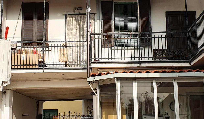 prospetto interno facciata